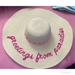 PINK Victoria's Secret Beach Hat
